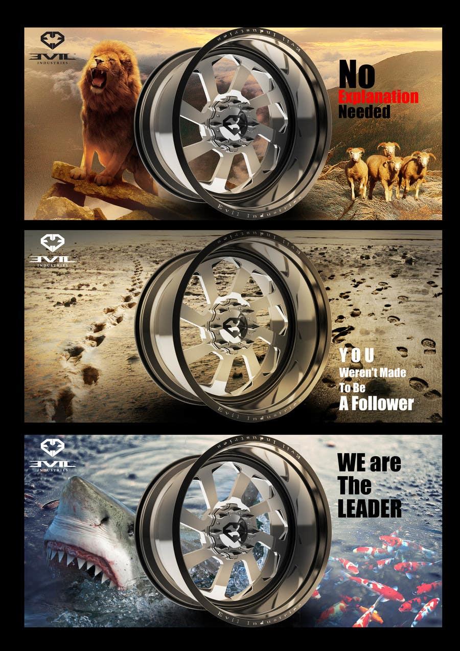 Proposition n°26 du concours Design an Advertisement For Luxury Wheel (Rims)