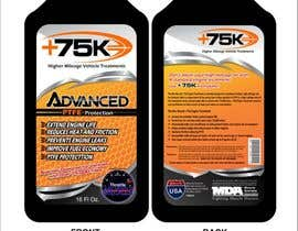 arteq04 tarafından Print & Packaging Design for +75K High Mileage Engine Treatment için no 56