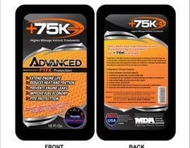 arteq04 tarafından Print & Packaging Design for +75K High Mileage Engine Treatment için no 46