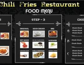 nº 5 pour Create a menu par obaidul99