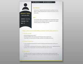 nº 9 pour I need someone to deign an easily editable resume par Abdullah2222