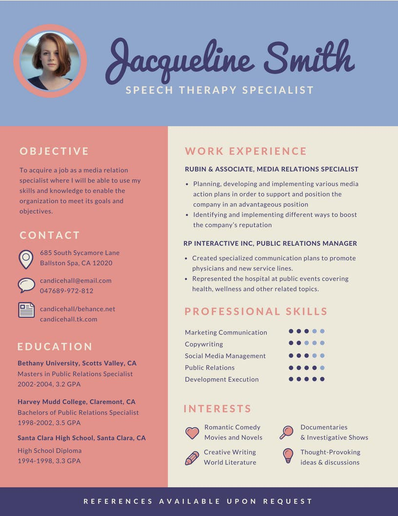 Proposition n°35 du concours I need someone to deign an easily editable resume