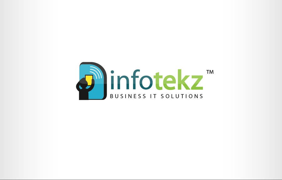 #83 for Logo Design for INFOTEKZ  (Please Try 3D Logo/Font) : Please see attached vector image by oscarhawkins