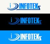 Graphic Design Contest Entry #53 for Logo Design for INFOTEKZ  (Please Try 3D Logo/Font) : Please see attached vector image