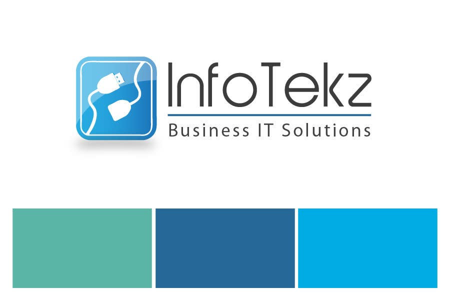 #316 for Logo Design for INFOTEKZ  (Please Try 3D Logo/Font) : Please see attached vector image by RamonDNC