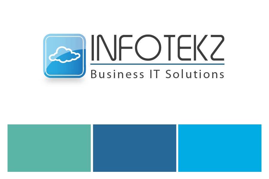 #317 for Logo Design for INFOTEKZ  (Please Try 3D Logo/Font) : Please see attached vector image by RamonDNC