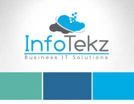 #302 untuk Logo Design for INFOTEKZ  (Please Try 3D Logo/Font) : Please see attached vector image oleh RamonDNC