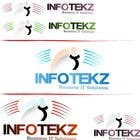 Contest Entry #299 for Logo Design for INFOTEKZ  (Please Try 3D Logo/Font) : Please see attached vector image
