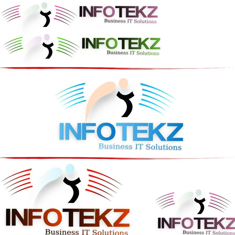 #299 for Logo Design for INFOTEKZ  (Please Try 3D Logo/Font) : Please see attached vector image by disignSoft