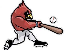 nº 23 pour Design a Cardinal Baseball Logo par Rhandyv
