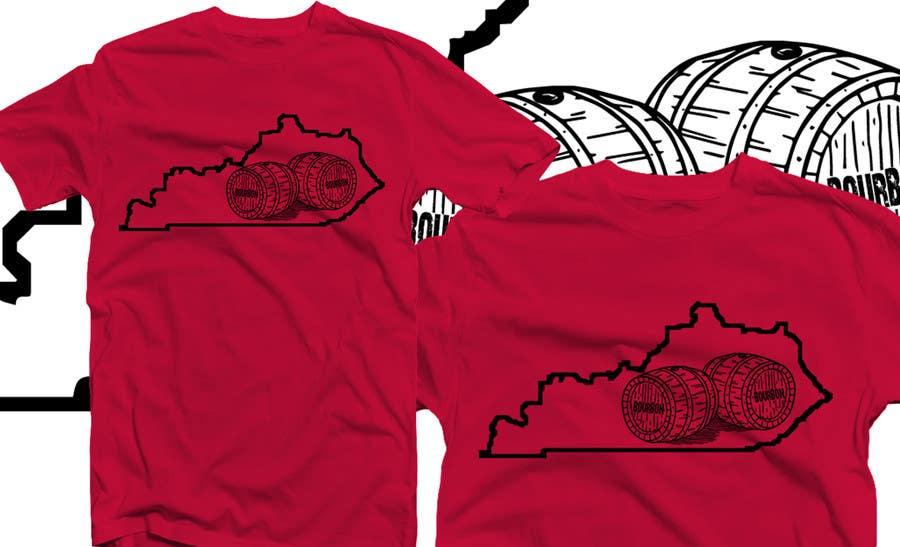 Proposition n°47 du concours Design a T-Shirt - Bourbon State