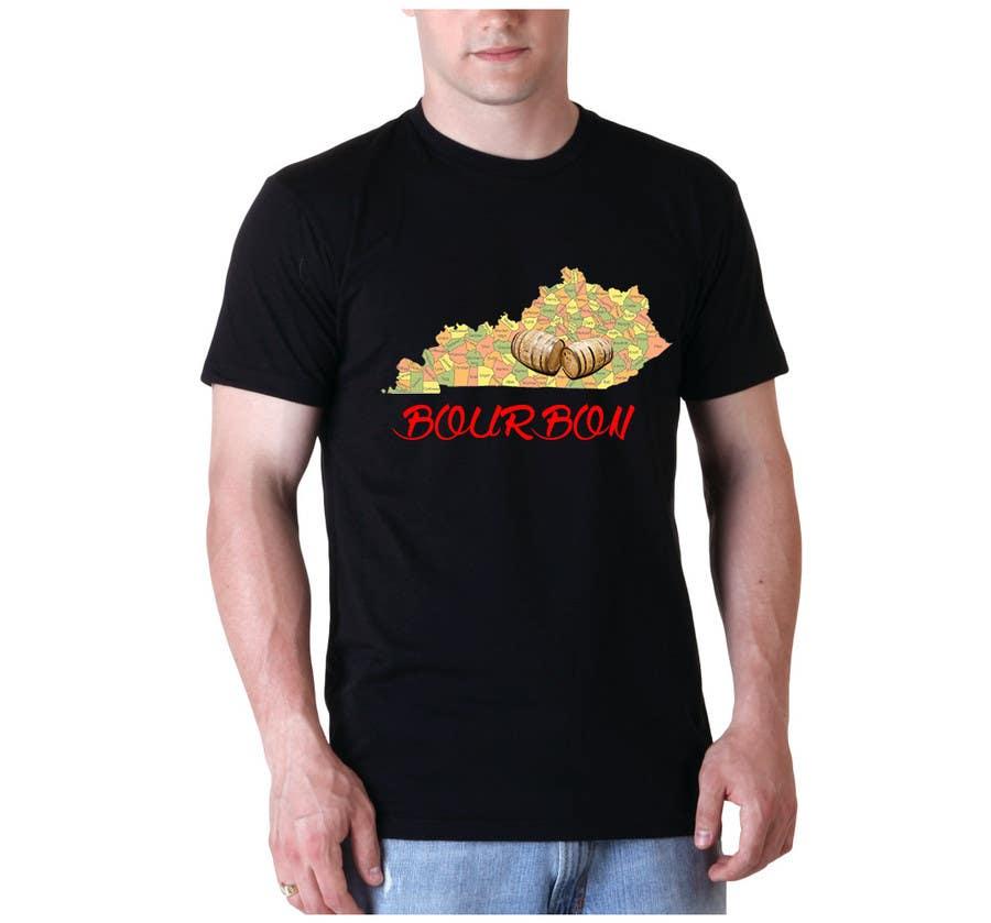 Proposition n°51 du concours Design a T-Shirt - Bourbon State