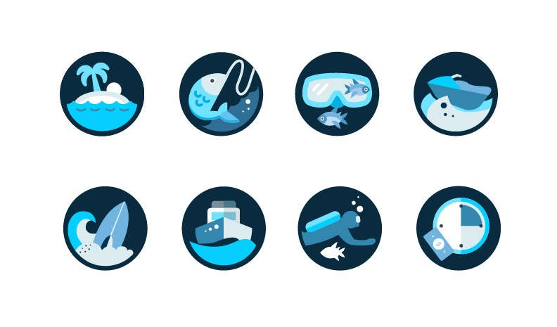 Proposition n°13 du concours Design some Icons for my website and app