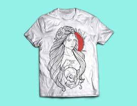 nº 42 pour Design a T-Shirt  with a Sugar skull logo style theme par migueloelo