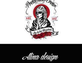 nº 50 pour Design a T-Shirt  with a Sugar skull logo style theme par Alinawannawork