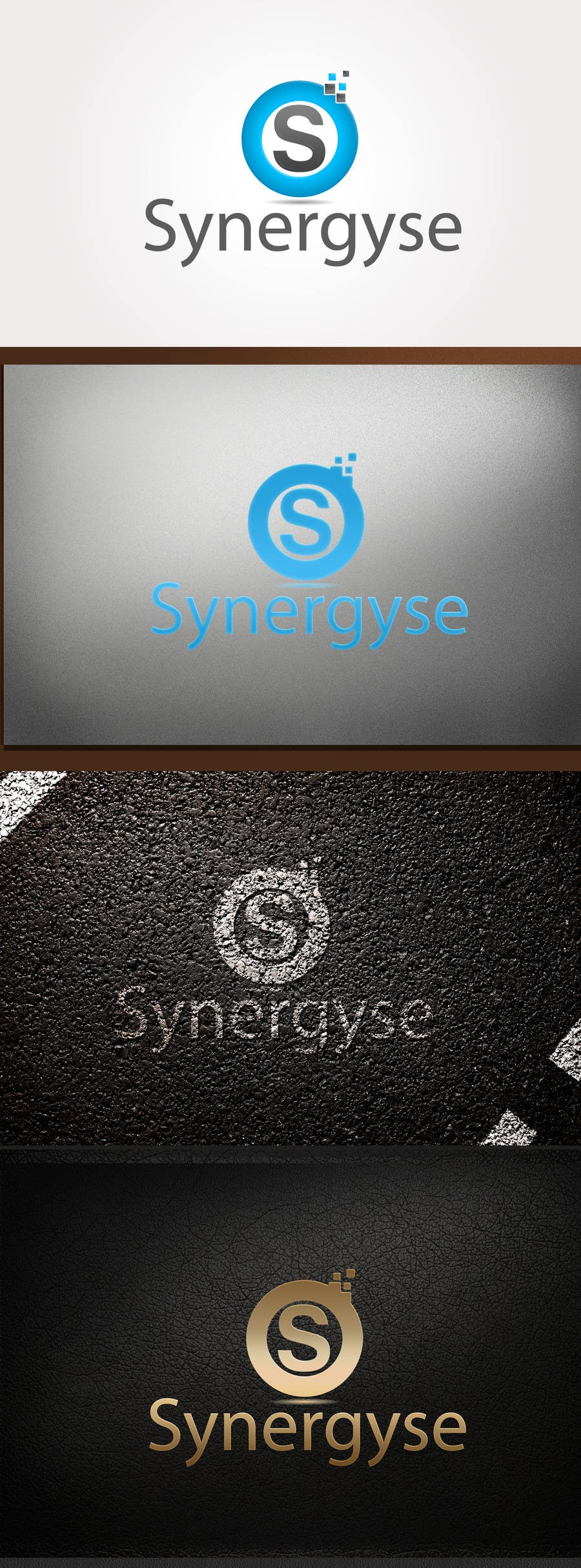Proposition n°                                        79                                      du concours                                         Logo Design for Synergyse