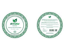 nº 10 pour Design two round labels for a natural product par processeddesign