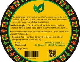 nº 22 pour Design two round labels for a natural product par pixelmanager