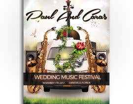 #73 for Design a Music Festival Wedding Poster by ibrahim2025