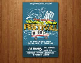 #50 for Design a Music Festival Wedding Poster by sairalatief