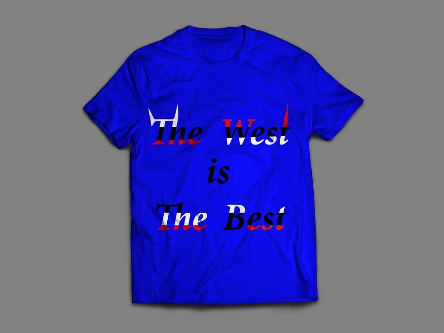 Proposition n°34 du concours west/best t-shirt