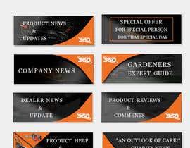 nº 12 pour FAQs Banners for Website par mayurishinde019