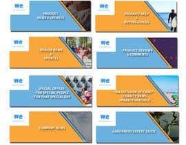 nº 9 pour FAQs Banners for Website par MrAhsanImran