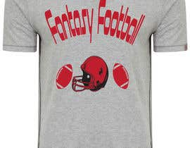 #4 for Typography Tshirt Design for Fantasy Football by xhzahid