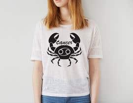 nº 19 pour Design a Typography T-Shirt for the Zodiac Cancer par saddam46