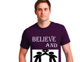 nº 29 pour Believe and Succeed  -  Design a T-Shirt -- 2 par jarintaslim