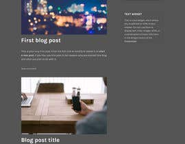 nº 3 pour Create a WordPress Template par mateenirshad