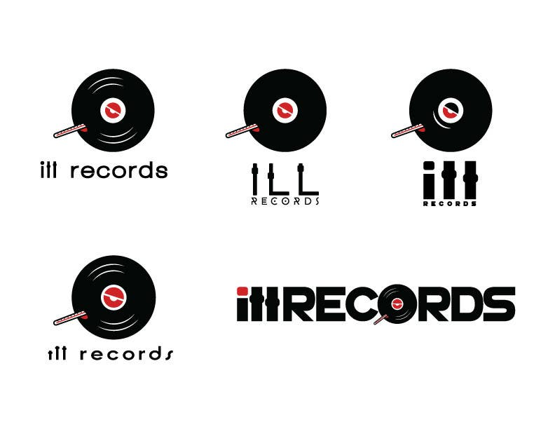 Proposition n°119 du concours I need a fresh new logo for ill records :)