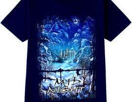 nº 33 pour Design an image for a T-shirt par KLTP