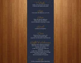 nº 29 pour Design a wedding menu par teAmGrafic