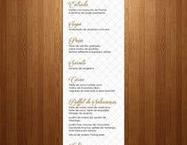 nº 30 pour Design a wedding menu par teAmGrafic