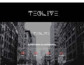 """nº 2 pour Design a LOGO for our website """"Teqlive"""" par RezaunNobi"""