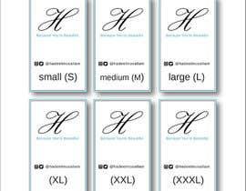 nº 17 pour Design Clothing Inner Tags par savaqda