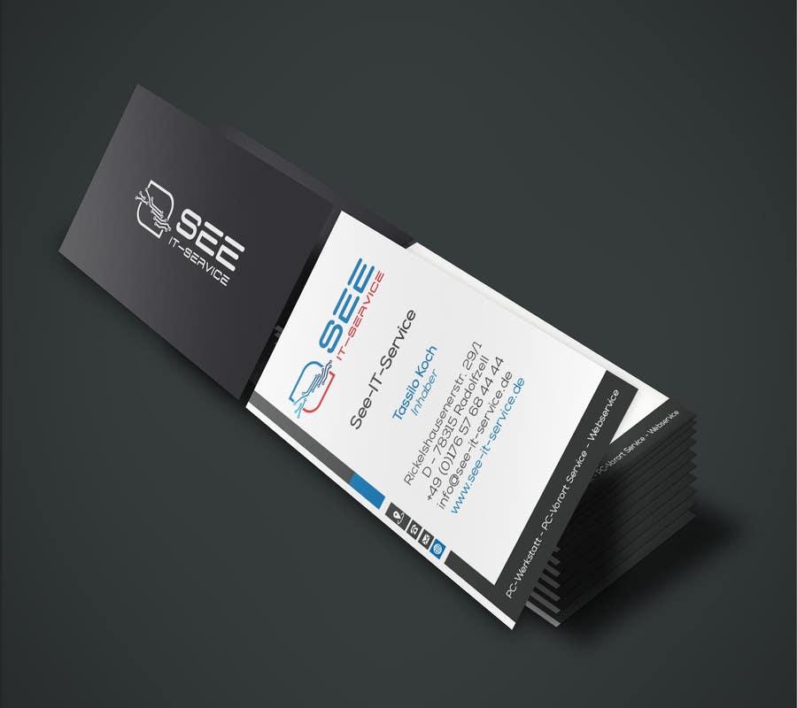 Entry 7 By Enes2707 For Design Von Visitenkarten Flyer Usw