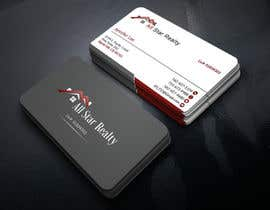nº 42 pour Business Card Design for Real Estate Office par bismillahit