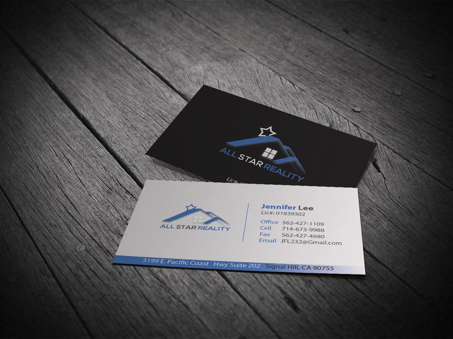 Proposition n°209 du concours Business Card Design for Real Estate Office