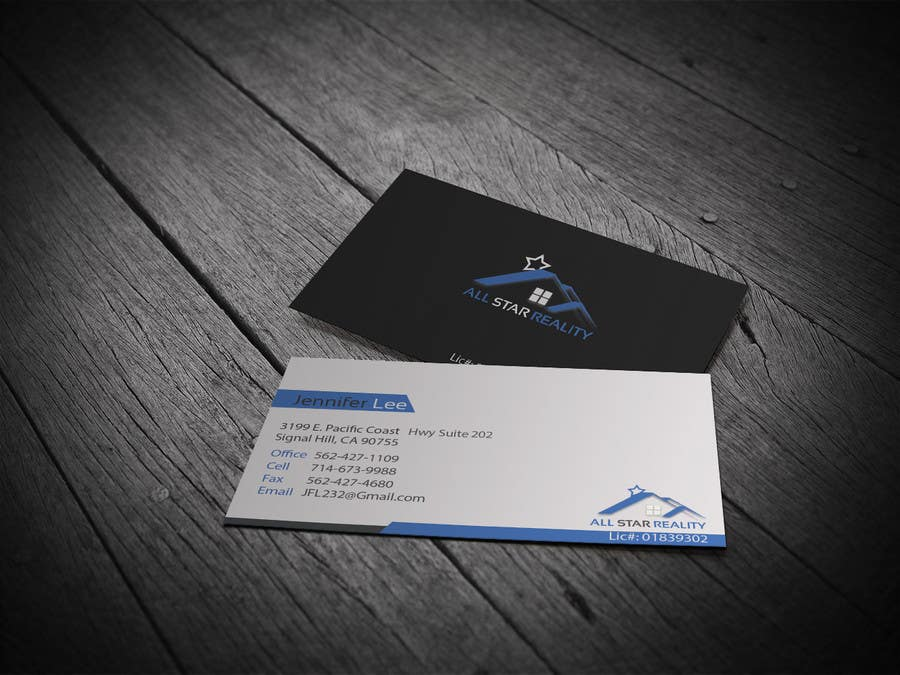 Proposition n°220 du concours Business Card Design for Real Estate Office
