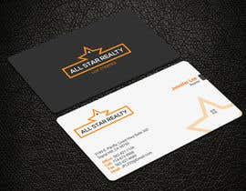 nº 16 pour Business Card Design for Real Estate Office par noorpiash