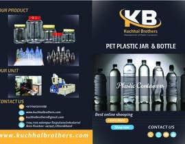 nº 5 pour Design a Brochure for Plastic Container Manufacturer par mariamsadia09
