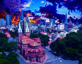 """nº 2 pour Create some """"Inception movie effect' image of my city par sabiqunnahar03"""