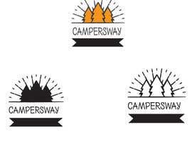 nº 43 pour Design A Camping Logo par shanto38