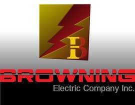 #28 untuk Logo Design for Browning Electric Company Inc. oleh euadrian