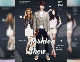 nº 67 pour Design a Flyer for a Fashion Show par joymarma11