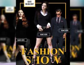 nº 64 pour Design a Flyer for a Fashion Show par reful123