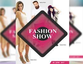 nº 65 pour Design a Flyer for a Fashion Show par reful123