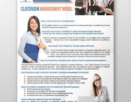 nº 22 pour Thoughtful Teacher One-Page Ad par thranawins